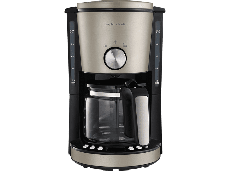 MORPHY RICHARDS  Evoke Special Edition Kaffeemaschine Platin | 05011832064646