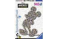 RAVENSBURGER Shaped Mickey Puzzle, Mehrfarbig