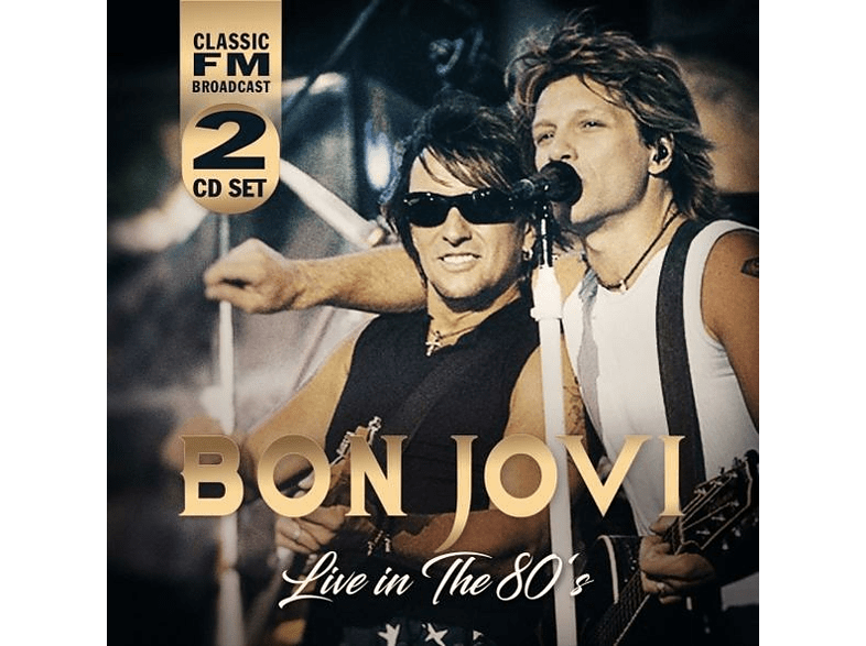 Bon Jovi - Live In The 80's [CD]