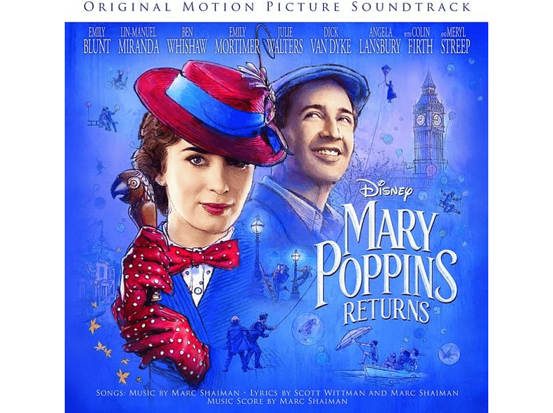 VARIOUS - Mary Poppins Returns [CD]