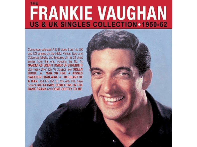 Frankie Vaughan - The US & UK Singles Collection 1950-62 [CD]