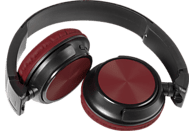 VIVANCO Mooove Air 2, On-ear Kopfhörer Bluetooth Rot