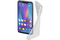 HAMA 185128 CO CR CL HUAWEI P SMART+ ,TR , Backcover, Huawei, P Smart+, Thermoplastisches Polyurethan, Transparent