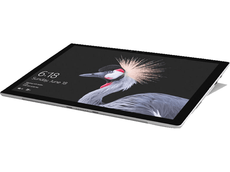 MICROSOFT Surface Pro Convertible, Platin