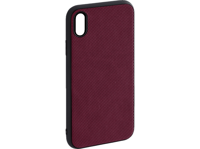 HAMA Rainbow , Backcover, Apple, iPhone X, iPhone XS, Polyurethan(PU)/Thermoplastisches Polyurethan (TPU), Dunkelrot