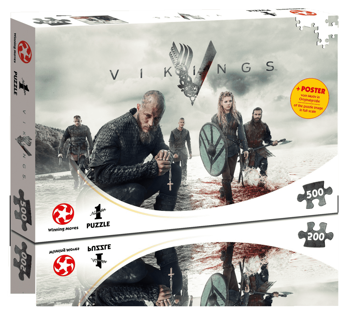 WINNING MOVES Vikings - The World will be ours Puzzle Mehrfarbig