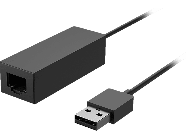 MICROSOFT Surface USB-Ethernet Adapter, Schwarz