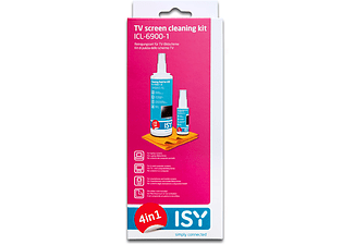 ISY ICL-6900 TV Cleaninkg Kit 4 in 1