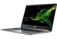ACER Swift 1 (SF114-32-P8GG), Notebook mit 14 Zoll Display, Pentium® Silver Prozessor, 4 GB RAM, 256 GB SSD, Intel® UHD-Grafik 605, Sparkly Silver