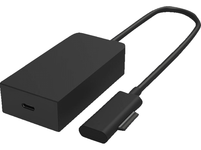 MICROSOFT Surface Connect Adapter, Schwarz