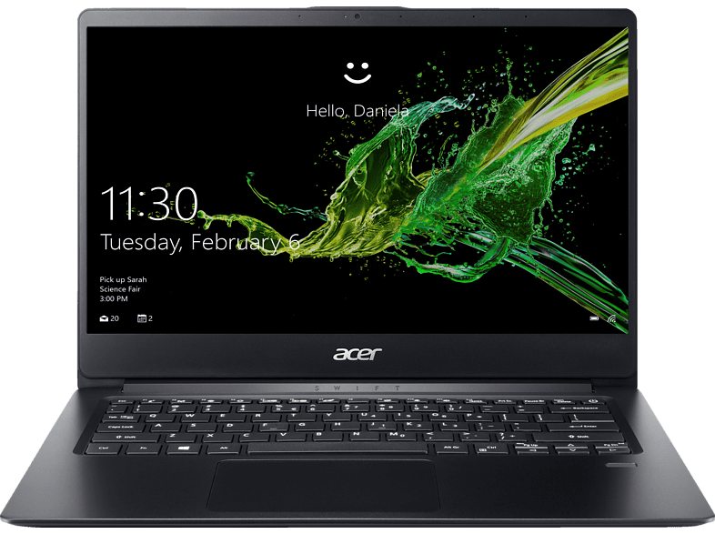 ACER Swift 1 (SF114-32-P4FE), Notebook mit 14 Zoll Display, Pentium® Silver Prozessor, 4 GB RAM, 256 GB SSD, Intel® UHD-Grafik 605, Schwarz