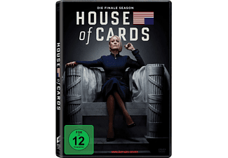 HOUSE OF CARDS 6.SEASON KOMPLETT - (DVD)