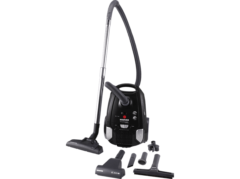 HOOVER TS 70 TS 21011 Thunder Space (mit Beutel, Schwarz)