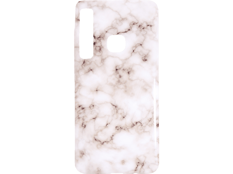 V-DESIGN VMR 125 Backcover Samsung Galaxy A9 (2018) Thermoplastisches Polyurethan Mehrfarbig