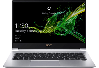 ACER Swift 3 (SF314-55-70VH), Notebook, Core™ i7 Prozessor, 8 GB RAM, 256 GB SSD, Intel® UHD-Grafik 620, Silber