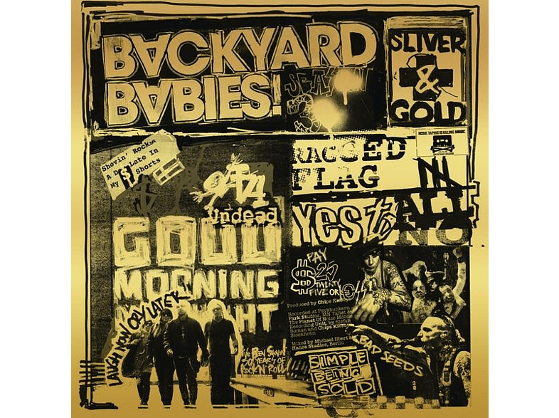 Backyard Babies - Sliver And Gold [LP + Bonus-CD]