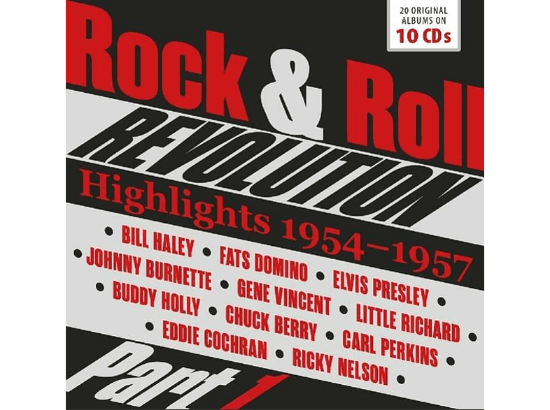 VARIOUS - Rock & Roll Revolution [CD]