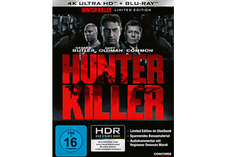 Hunter Killer (Limited Steelbook) - (4K Ultra HD Blu-ray + Blu-ray)