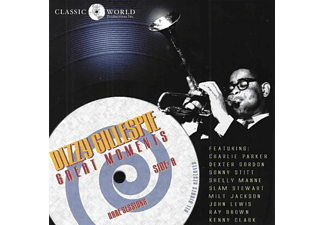 Dizzy Gillespie - Great Moments - (CD)
