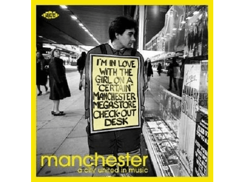 VARIOUS - Manchester-A City United In Music [CD]