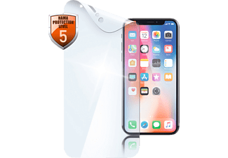 HAMA Crystal Clear, Schutzfolie, Transparent, passend für Apple iPhone X/Xs
