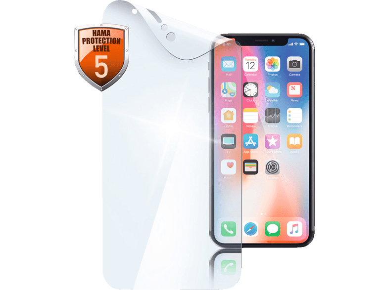 HAMA  Crystal Clear Schutzfolie (Apple iPhone X/Xs) | 04047443364616