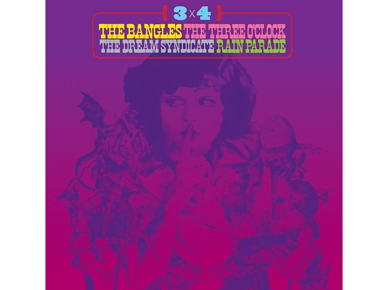 The Theee O'Clock, The Dream Syndicate, Bangles, The Rain Parade - 3 x 4 [CD]