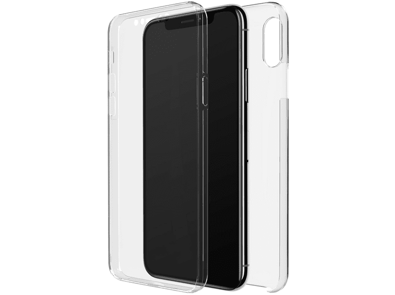 BLACK ROCK 360° Clear , Full Cover, Apple, iPhone X, iPhone XS, Transparent