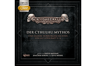 Der Cthulhu Mythos U.A.Horrorgeschichten-Box 1 - 2 MP3-CD - Hörspiel