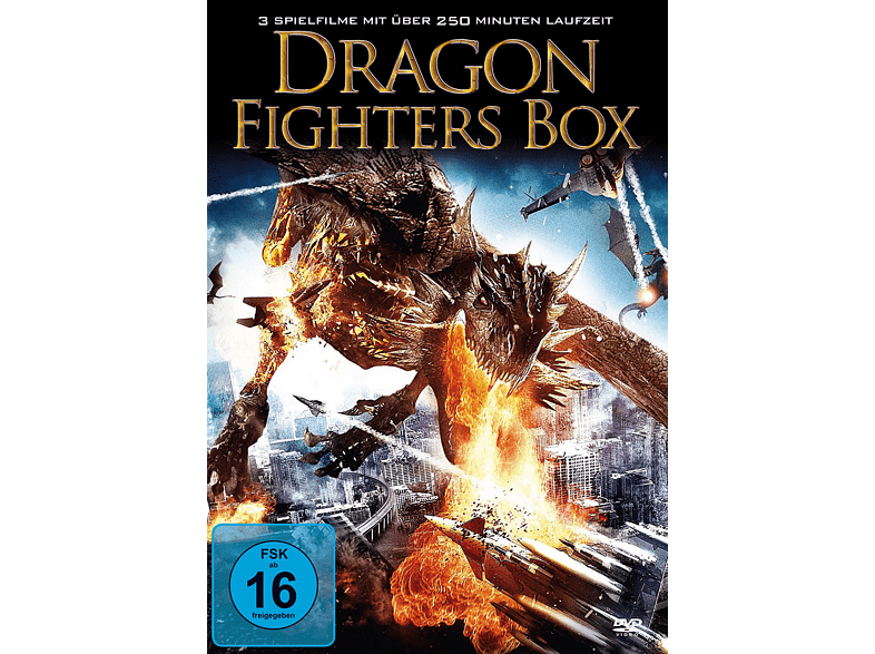 Dragon Fighters Box [DVD]