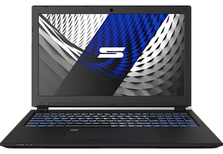 SCHENKER KEY 15 - M18csh, Business-Notebook, Core™ i7 Prozessor, 16 GB RAM, 250 GB SSD, 1000 GB HDD, GeForce® GTX 1060, schwarz
