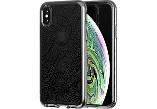 TECH21 Pure Clear Arundel Liberty Handyhülle, Apple iPhone XS Max, Schwarz
