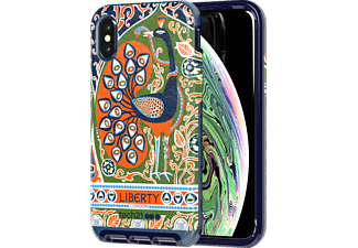 TECH21 Evo Luxe Liberty Francis Handyhülle, Apple iPhone XS, Blau