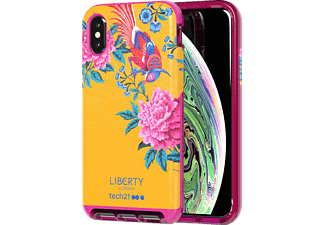 TECH21 Evo Luxe Liberty Elysian Handyhülle, Apple iPhone XS, Gelb
