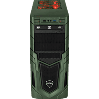 HYRICAN MILITARY GAMING 6166, Gaming PC mit Core™ i5 Prozessor, 8 GB RAM, 240 GB SSD, 1 TB HDD, Radeon™ RX 580, 8 GB