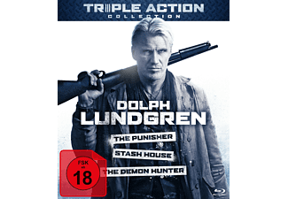 Dolph Lundgren Triple Action Collection - (Blu-ray)