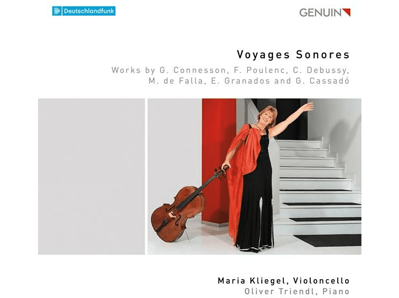 Maria & Oliver T Kliegel - Voyages Sonores [CD]