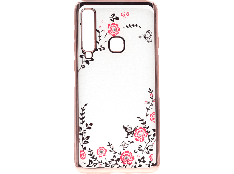 AGM  Feeling Backcover Samsung Galaxy A9 (2018) Thermoplastisches Polyurethan, Kunststoff Rosegold   04026436274910