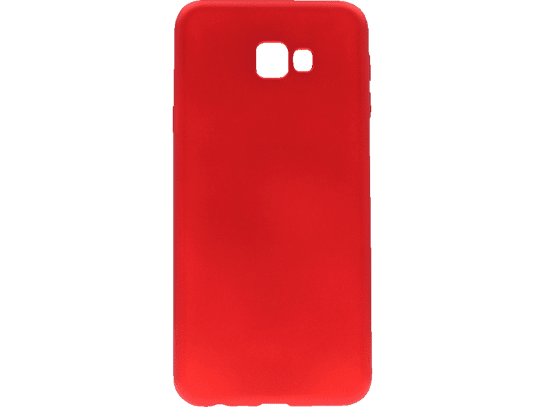 AGM Soft , Backcover, Samsung, Galaxy J4+, Thermoplastisches Polyurethan, Rot
