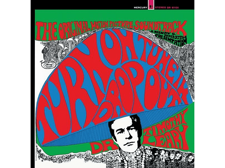 O.S.T., Dr. Timothy Leary - Turn On Tune In Drop Out (rot/blau/grünes Vinyl) [Vinyl]