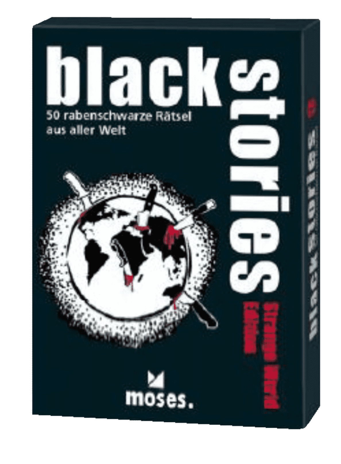 S.A.D. Black Stories - Strange World Edition Rätselspiel Mehrfarbig