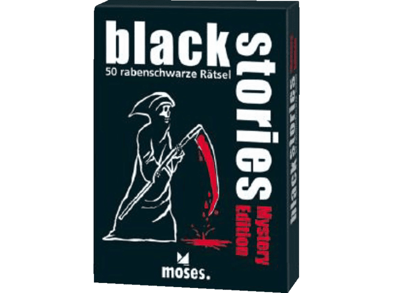 S.A.D. Black Stories - Mystery Edition Rätselspiel, Mehrfarbig