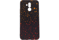 AGM Points , Backcover, Huawei, Mate 20 Lite, Thermoplastisches Polyurethan, Schwarz, Gelb,Rot