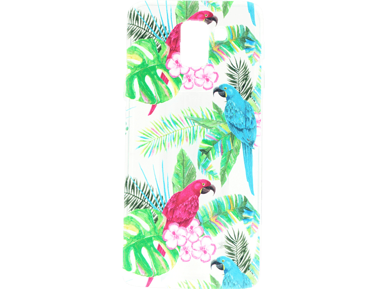 AGM Fashion , Backcover, Samsung, Galaxy J6 (2018), Thermoplastisches Polyurethan, Mehrfarbig