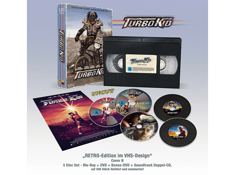 Turbo Kid (Limitierte VHS RETRO-Edition) [Blu-ray + DVD]