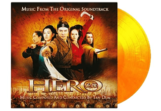 OST/VARIOUS - Hero (ltd flaming Vinyll) - (Vinyl)