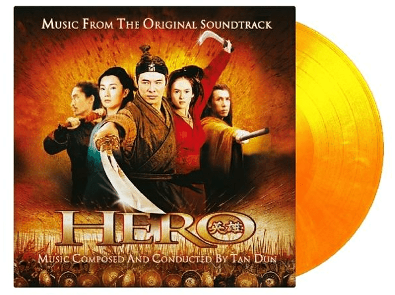 China Philharmonic Orchestra And Chorus, Various - Hero (ltd flaming Vinyll) [Vinyl]