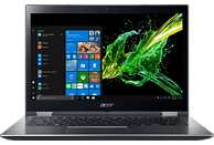 ACER Spin 3 SP314-51-3414, Notebook mit 14 Zoll Display, Core™ i3 Prozessor, 256 GB SSD, Intel® HD Graphics 620, Steel Gray