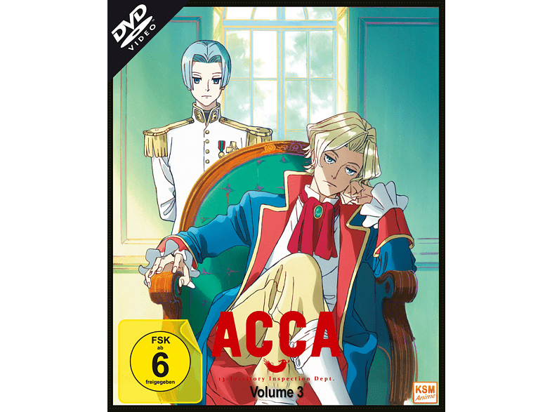 ACCA - 13 Territory Inspection Dept. - Vol. 3 [DVD]