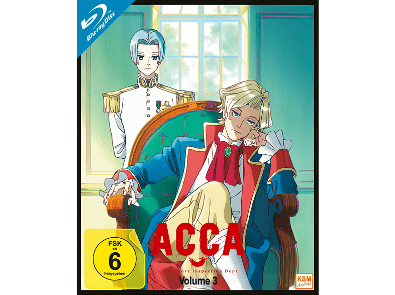 ACCA - 13 Territory Inspection Dept. - Vol. 3 [Blu-ray]